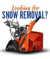 Looking for snow removal