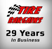Tire Bargains. 29 years in business