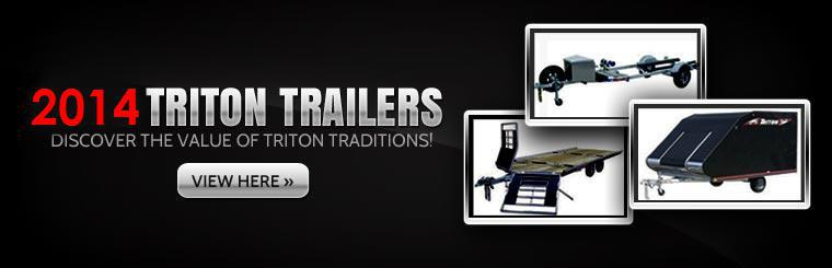 Click here to view the 2014 Triton trailers.