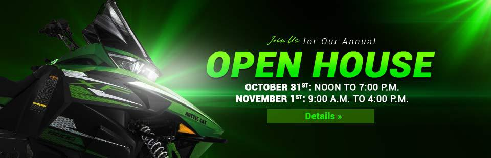 Join us October 31st and November 1st for our annual Open House! Click here for details.