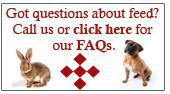 Got questions about feed? Call us or click here for our FAQs.