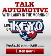 Talk automotive with Larry in the morning!