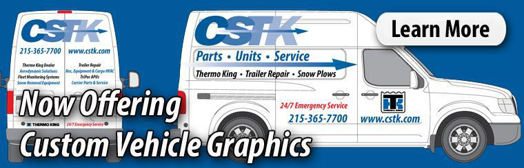 CSTK Now Offering Custom Fleet Vehicle Graphics