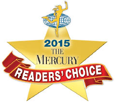 The 2015 Mercury Readers' Choice Award