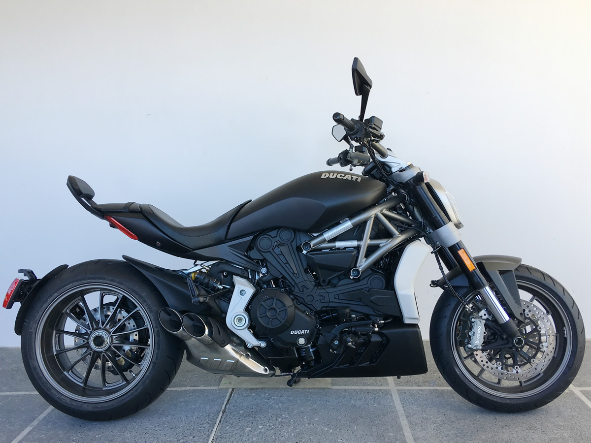 2016 Ducati XDiavel Factory Demo For Sale In Roseville CA AS