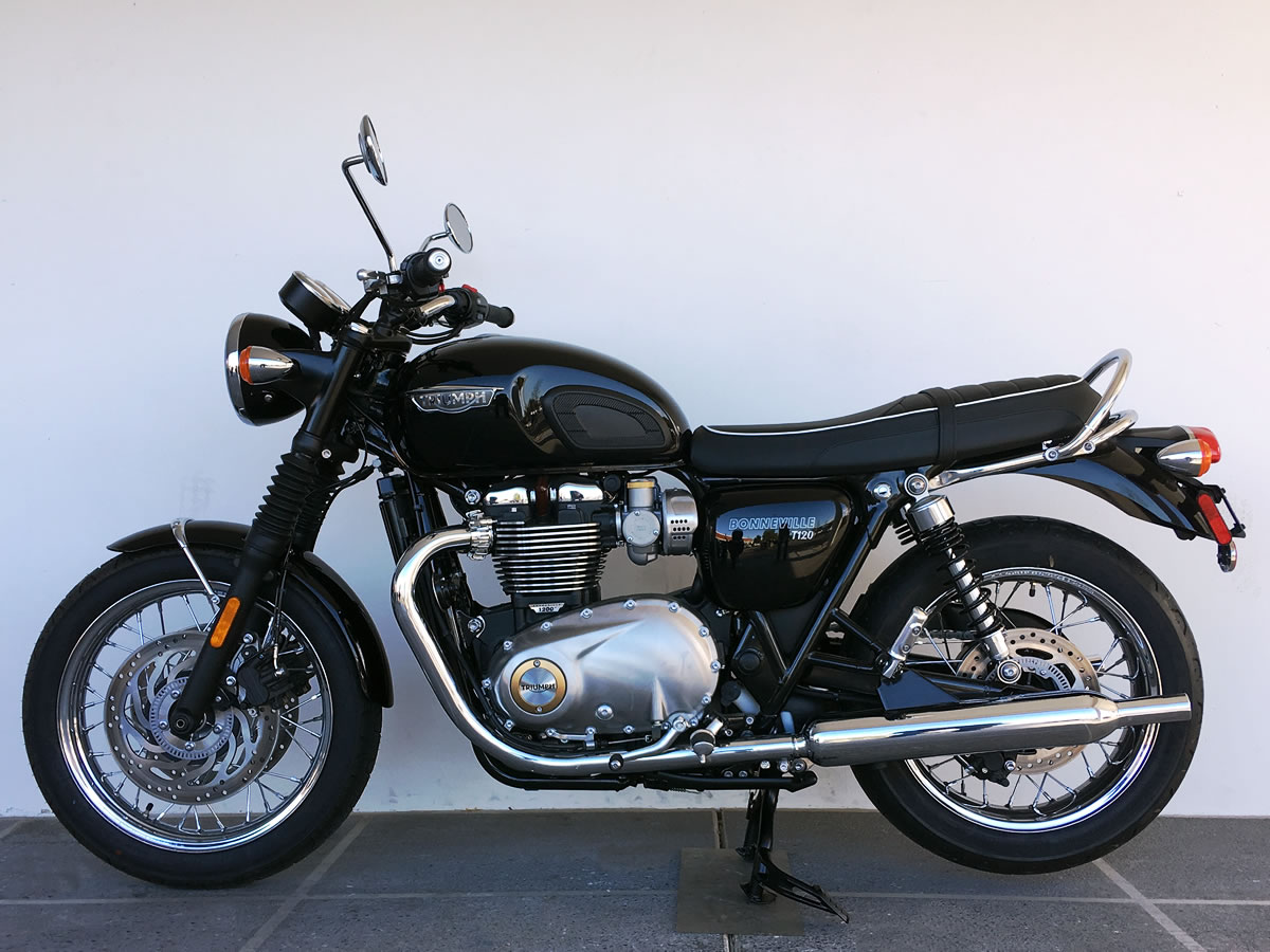 2018 Triumph Bonneville T120 Black 750 Rebate Or Special Financing