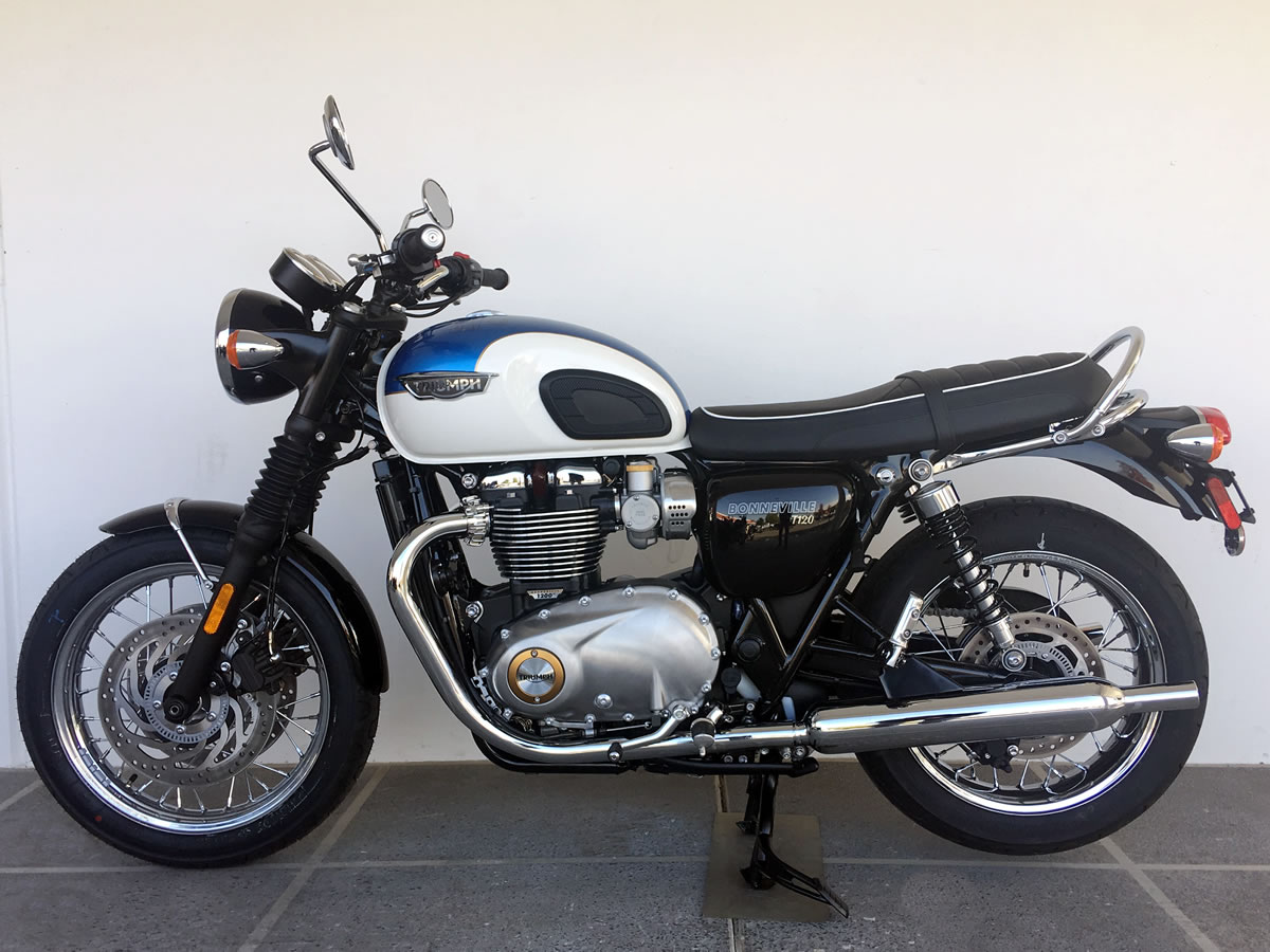 2019 Triumph Bonneville T120 For Sale In Roseville Ca As