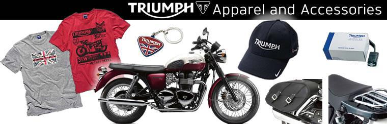 Triumph Parts and Accessories Banner