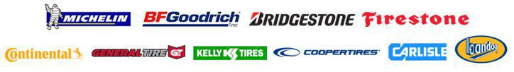 We carry products from Michelin®, BFGoodrich®, Bridgestone, Firestone, Continental, General, Kelly, Cooper, Carlisle, and Bandag.