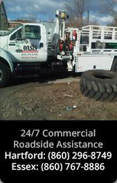 24/7 Commercial Roadside Assistance: Hartford: (860) 296-8749 | Essex: (860) 767-8886