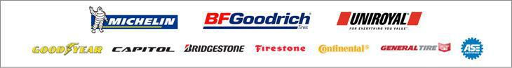 We proudly carry products from Michelin®, BFGoodrich®, Uniroyal®, Goodyear, Capitol, Bridgestone, Firestone, Continental, and General. Our technicians are ASE certified.