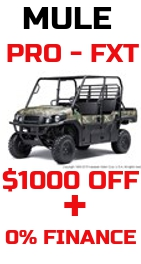 $1000 OFF ALL PRO FXT PLUS ZERO FINANCING!