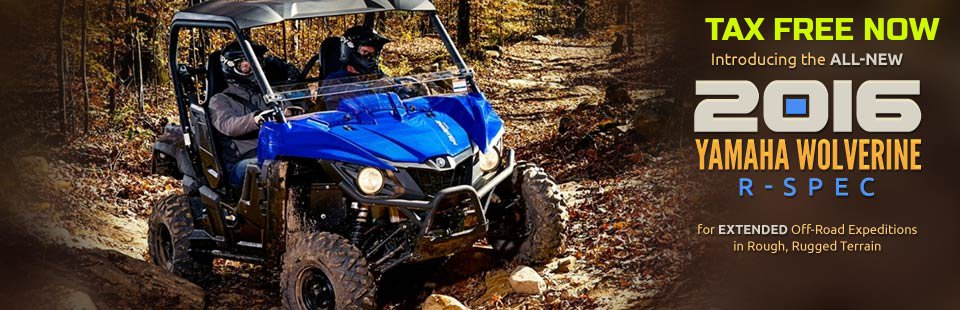 2016 Yamaha Wolverine R-Spec: Click here to view the models.