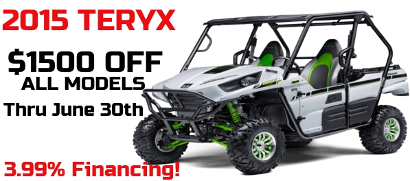 $1500 off ALL Teyrx Models!