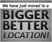We have just moved to a bigger better location!