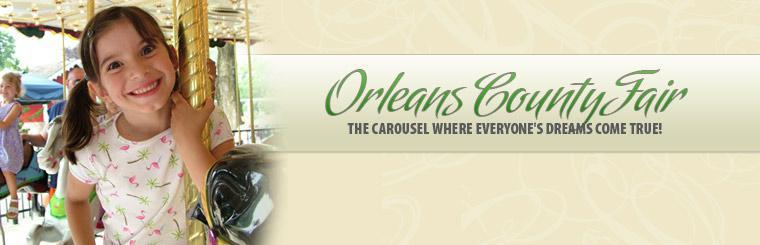 Orleans County Fair: The carousel where everyone's dreams come true.