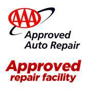 AAA Approved Auto Repair. Approved repair facility.