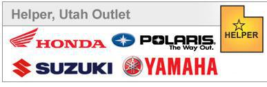 Helper, Utah Outlet proudly carrys Honda, Polaris, Suzuki, and Yamaha.