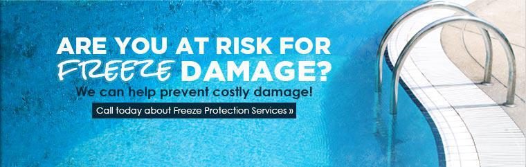 Are you at risk for freeze damage? Call us today about Freeze Protection Services! Click here to contact us.