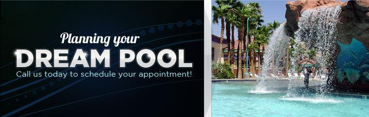Planning your dream pool? Call us today to schedule your appointment! Click here to contact us.