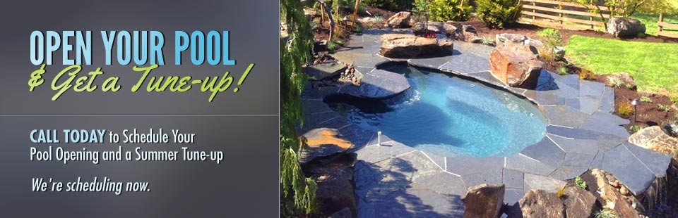 Open your Pool & Get a Tune Up! Call us today.