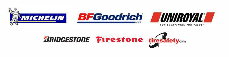 We carry products from Michelin®, BFGoodrich®, Uniroyal®, Bridgestone, and Firestone. We are affiliated with TireSafety.com.