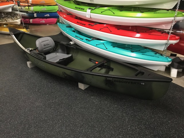 Old Town Canoes and Kayaks Discovery 119 Solo Sportsman