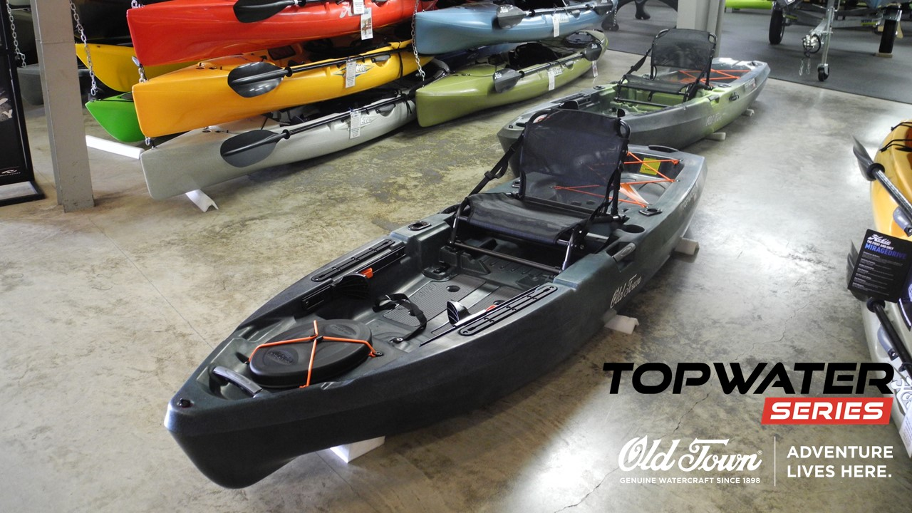 Old Town Canoes and Kayaks Topwater 106 Angler