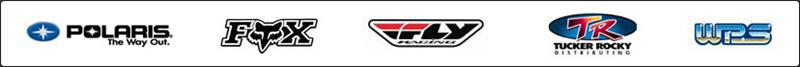 We carry products from Polaris, FOX Racing, Fly Racing, Tucker Rocky, and Western Powersports.