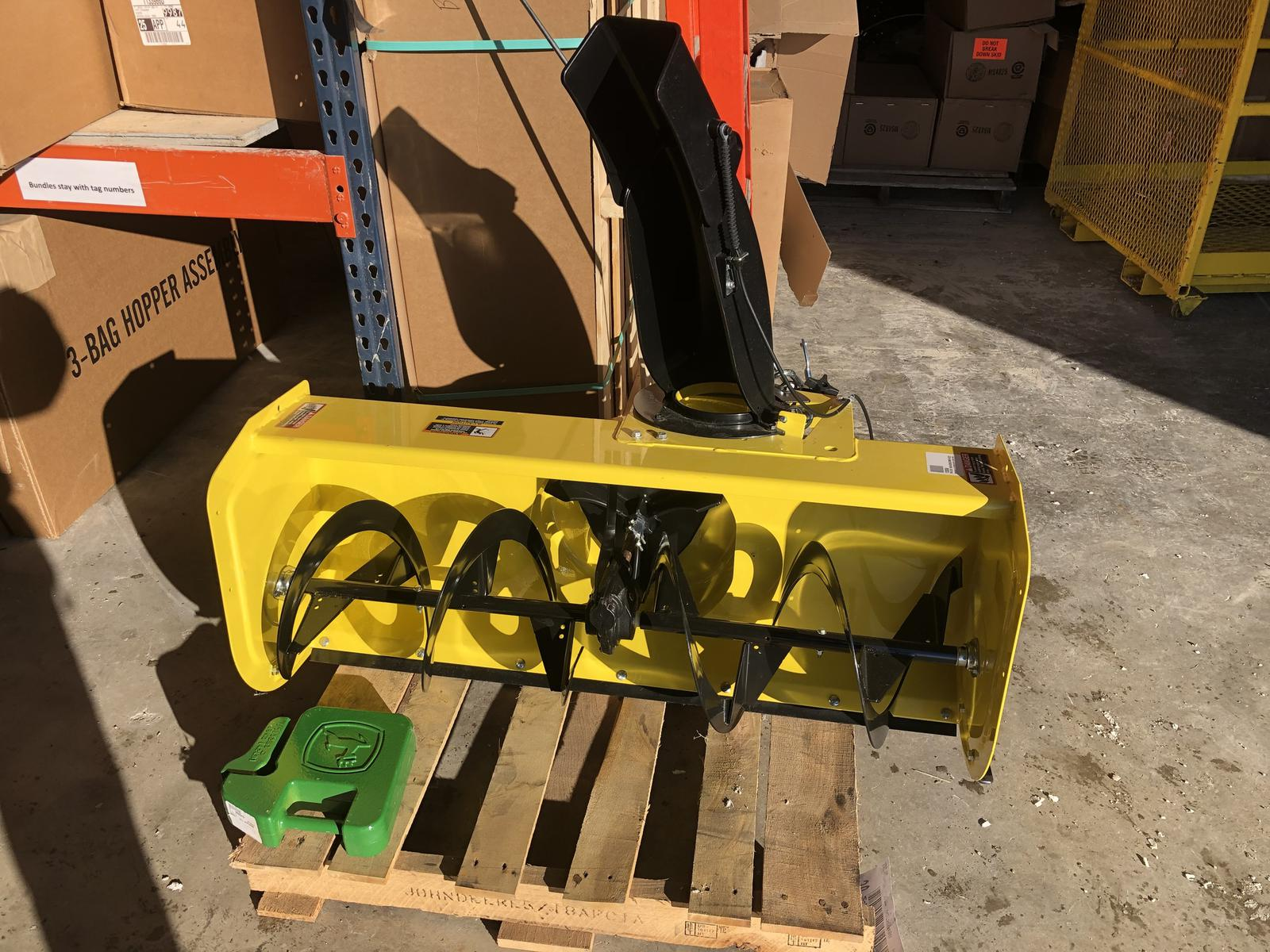 Inventory from John Deere and Loftness Eis Implement Two
