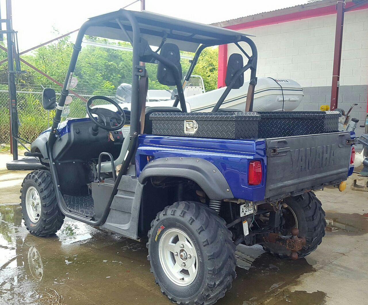 2007 Yamaha Rhino 660 Auto 4x4 For Sale In St Johns Antigua Vi Fuel Filter Location Img 20170803 Wa0006