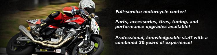 Full Service, Parts, Accessories, Tires, Tuning, Performance