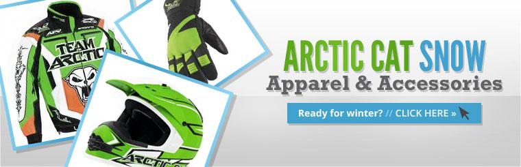 Arctic Cat Snow Apparel & Accessories: Click here to browse.