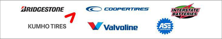 We proudly carry products by Bridgestone, Cooper, Insterstate Batteries, Kumho and Valvoline. We are ASE certified.