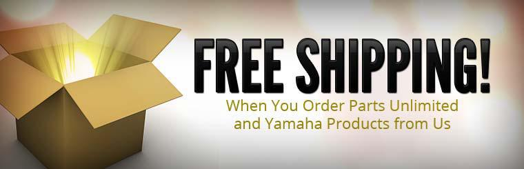Get free shipping when you order Parts Unlimited and Yamaha products from Twin Cities Yamaha!