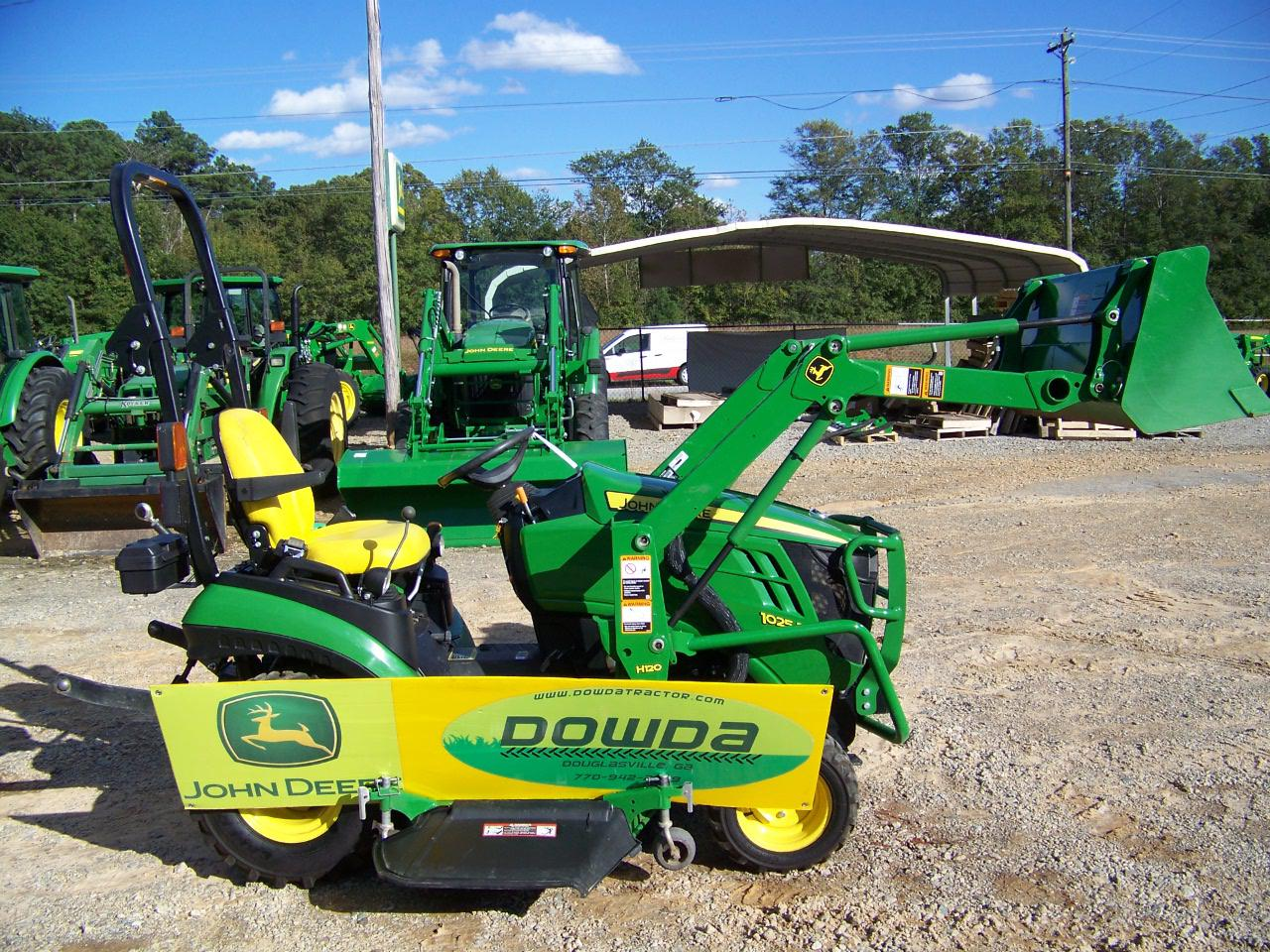 2015 john deere 1025r for sale in douglasville ga dowda farm