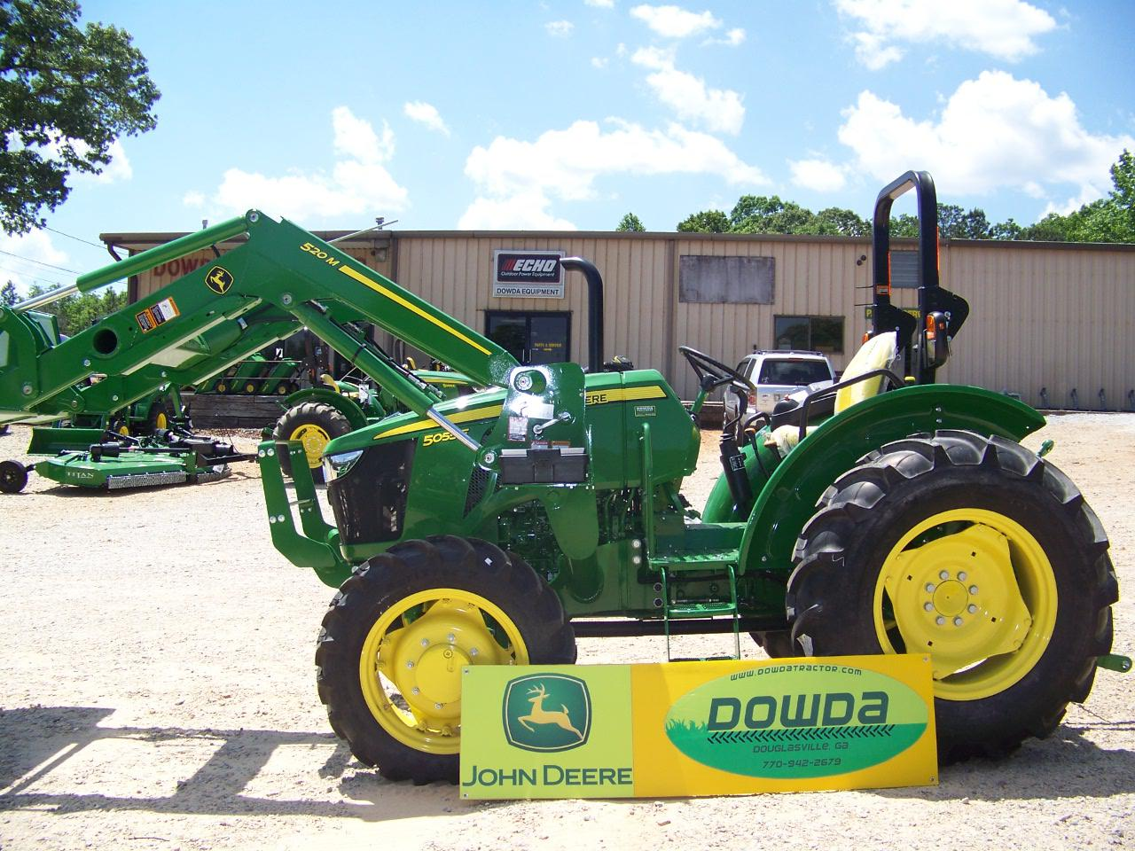 2018 john deere 5055e for sale in douglasville ga dowda farm