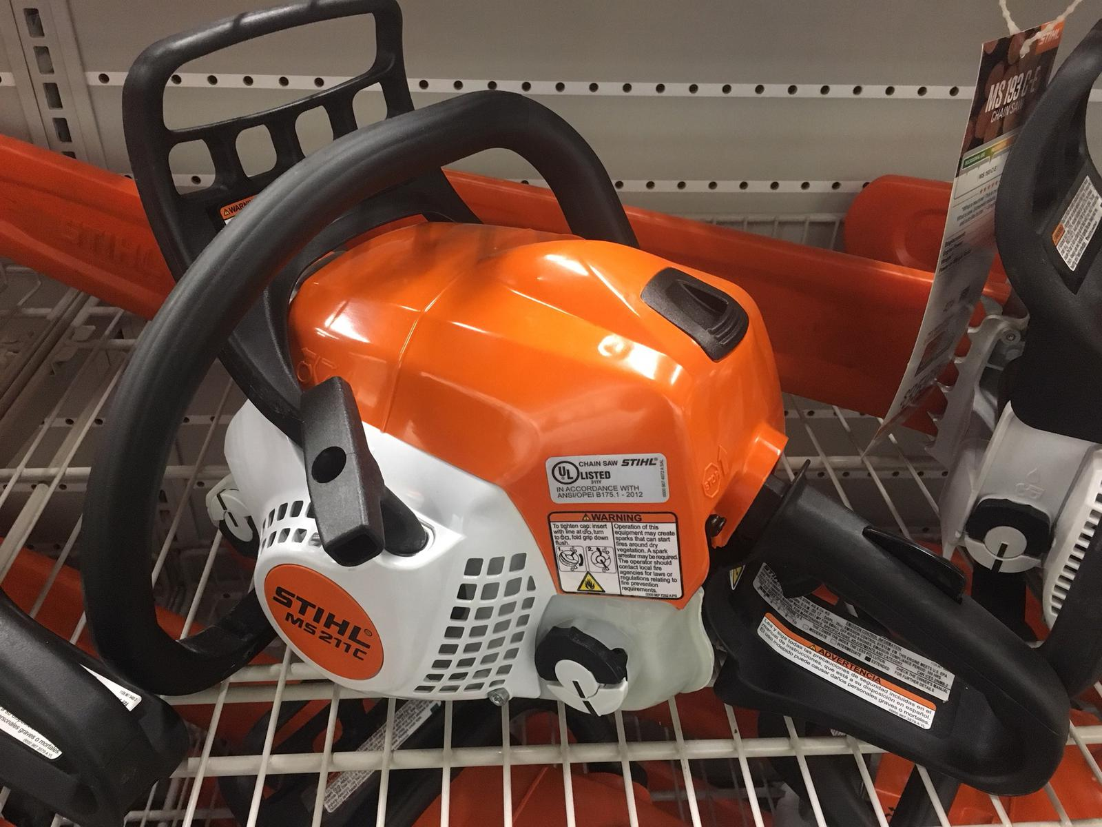 2018 stihl ms 211 c-be for sale in old saybrook, ct. new england