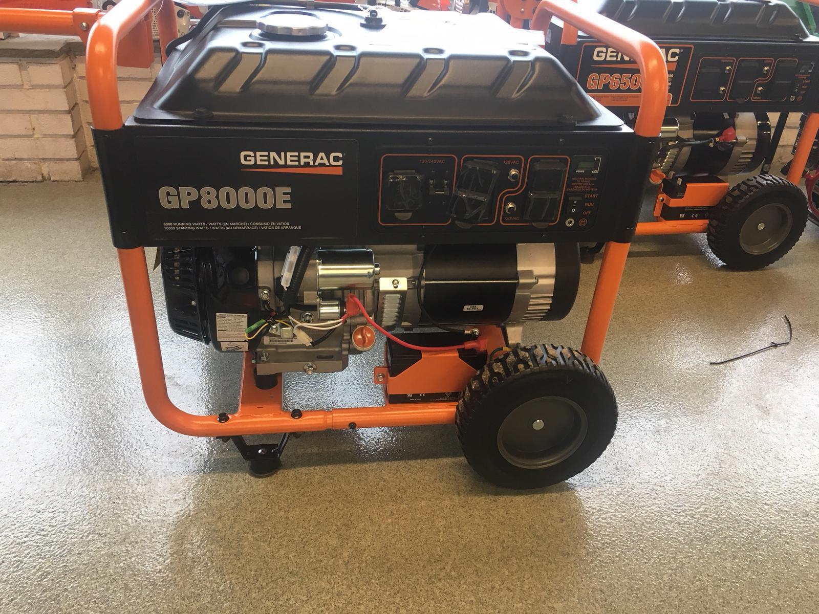 2018 Generac GP8000E - Model #6954