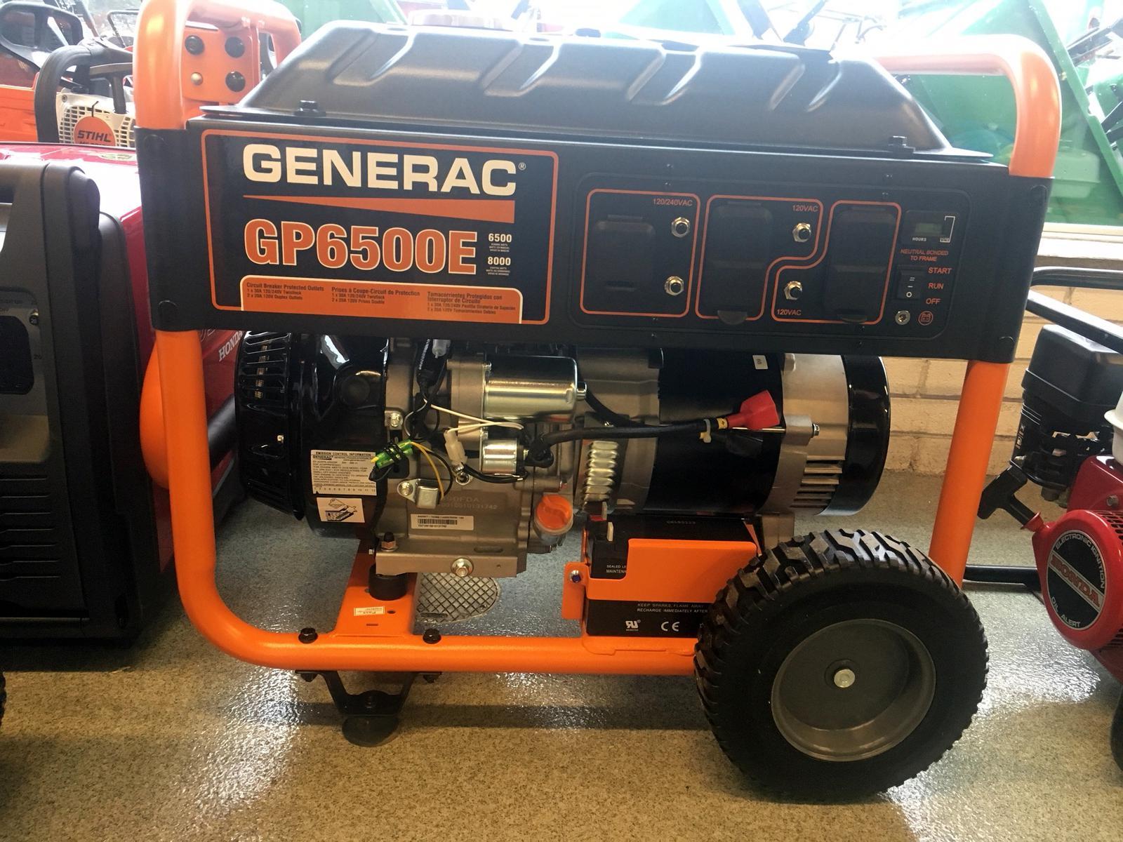2018 Generac GP6500E Model #5941