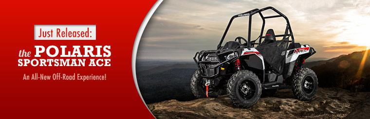 2014 Polaris Sportsmans ACE