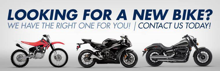 Looking for a new bike? We have the right one for you! Contact us today!