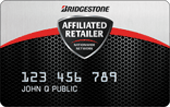 Bridgestone Affiliated Retailer Credit Card