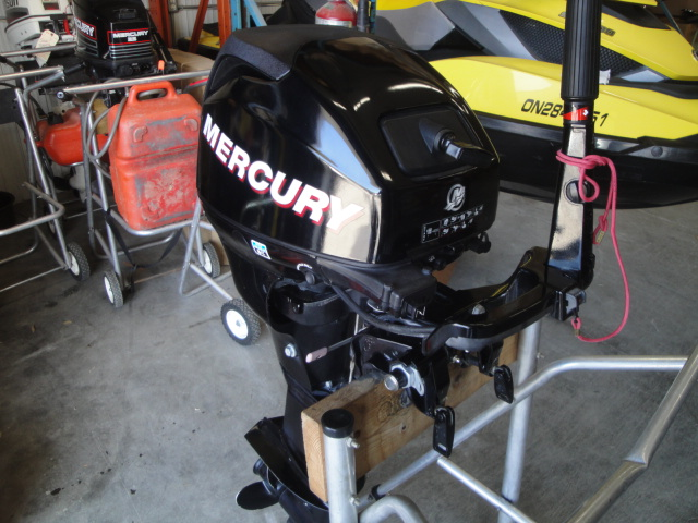 2009 Mercury 15hp 4-stroke
