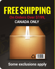 Get free shipping on orders over $199 in Canada only. Some exclusions apply.