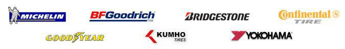 We carry products from Michelin®, BFGoodrich®, Bridgestone, Continental, Goodyear, Kumho, and Yokohama.