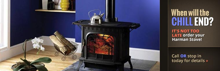 It's not too late order your Harman Stove! Click here to contact us.