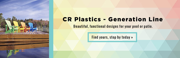 CR Plastics - Generation Line: Beautiful, functional designs for your pool or patio. Click here to contact us.
