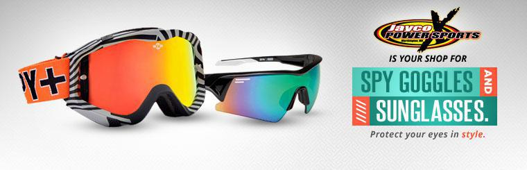 Jaycox is your shop for Spy goggles and sunglasses. Click here to contact us.