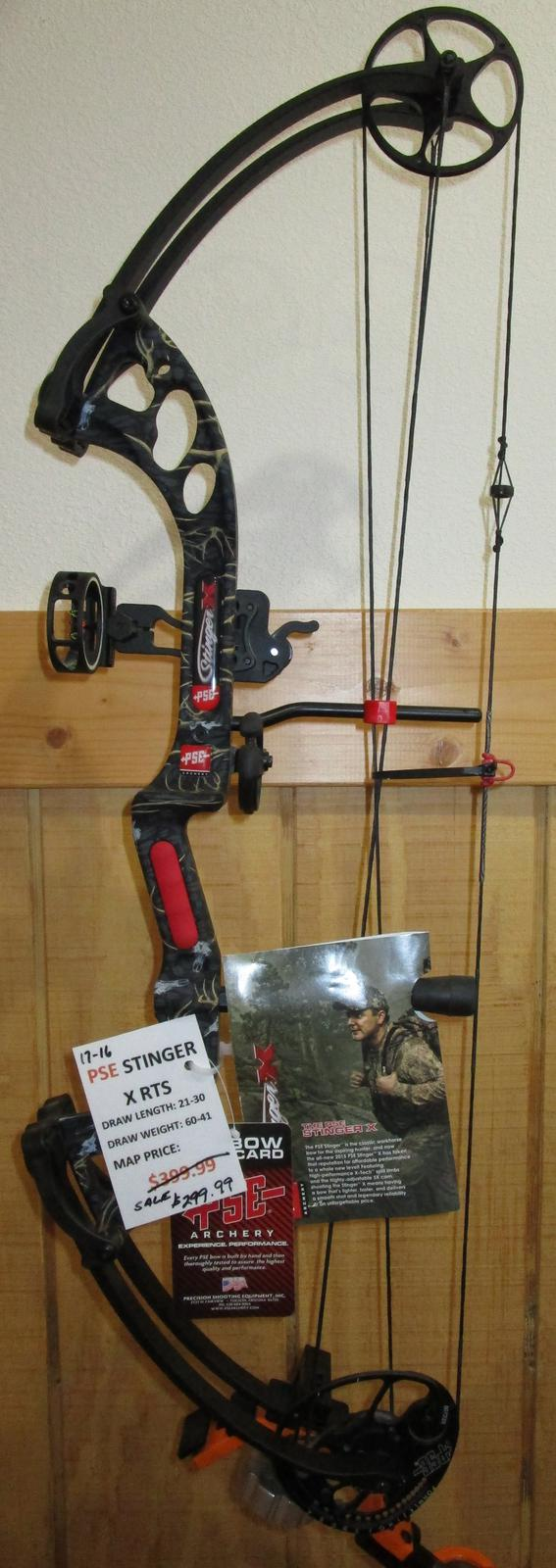 Inventory from PSE Archery and Skeeter Mid-State Marine, Inc